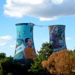 View of the Soweto Towers