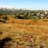 Distant View of Johannesburg